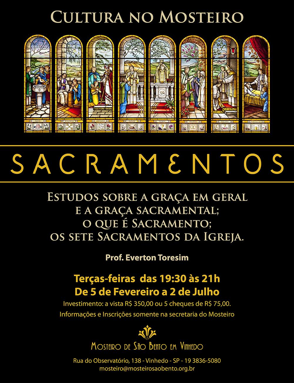 Cartaz - Sacramentos